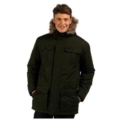 Pánský zimní kabát Regatta RMP194 SALTORO Bayleaf XXL