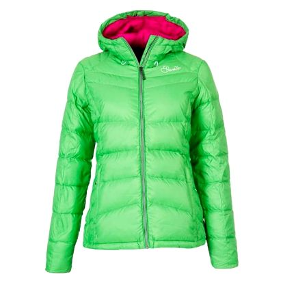Dámská zimní bunda Dare2B DWN013 PLAY DOWN HOODED Fairway Green 42