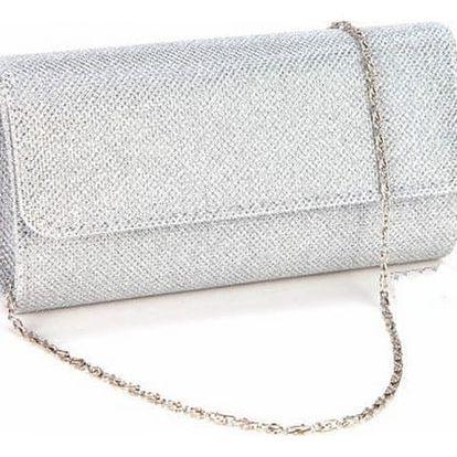 Luxusní večerní kabelka ve třpytivých barvách