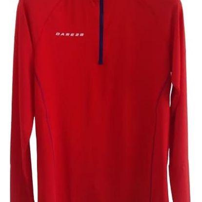 Pánské funkční tričko Dare2B SVDMT384 TRIVIAL Jersey Red xxl