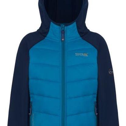 Dětská bunda Regatta RKN035 KIELDER Modrá 9-10y