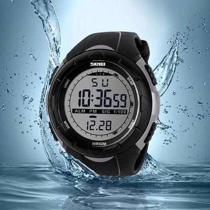 Sportovní digitální hodinky pro pány i dámy