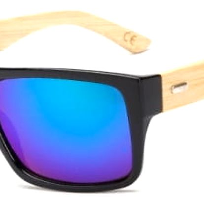 Stylové sluneční brýle s dřevěnými pacičkami - 10 druhů