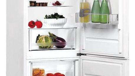 Kombinace chladničky s mrazničkou Indesit LR9 S1Q F W bílé + Doprava zdarma