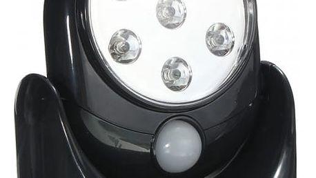 Bezdrátové noční světlo s pohybovým čidlem pro venkovní bezpečnost