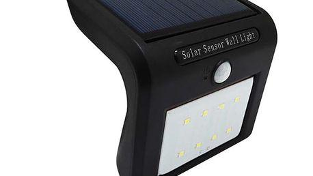 Solární LED světlo s pohybovým senzorem - 8 LED zářivek