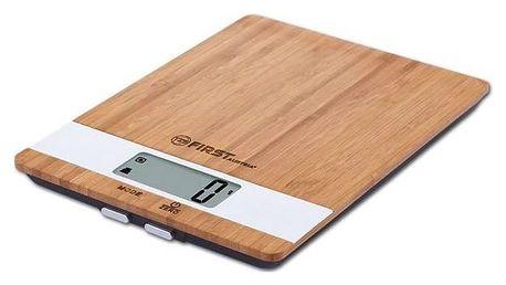 Kuchyňská váha First Austria 6410 dřevo