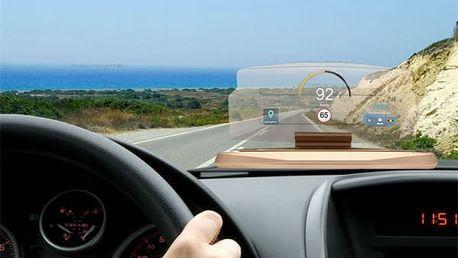Elegantní zrcadlový stojan na telefon/navigaci