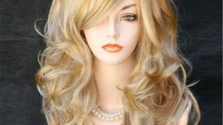 Dámská paruka - dlouhé blond vlasy