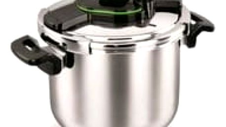 Nerezový tlakový hrnec Tessa zelený 7l Korkmaz