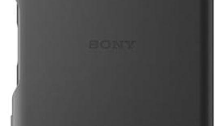 Pouzdro Sony SBC30 Style Back Cover Xperia XP černé Černá