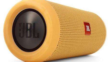 Přenosný reproduktor JBL Flip3 žlutý