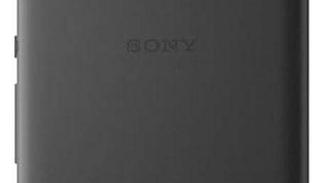 Pouzdro Sony SBC34 Style Back Cover Xperia XA Ultra černé Černá