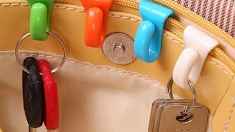 Plastový držák na klíče do kabelky - dodání do 2 dnů