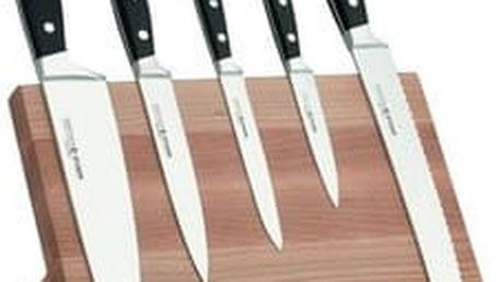 Sada 5ks kuchyňských nožů s magnetickým stojanem Felix Solingen + doprava zdarma