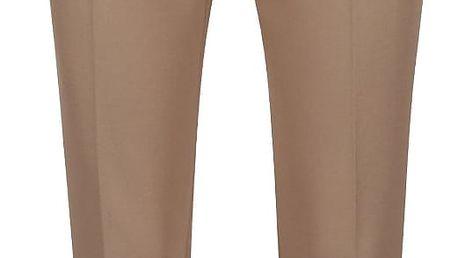 Světle hnědé dámské kalhoty s.Oliver