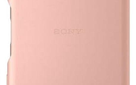 Pouzdro Sony SBC30 Style Back Cover Xperia XP Rose zlaté Růžová