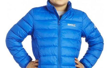 Dětská lehká péřová bunda Regatta RKN025 ICEWAY Oxford Blue 32in.