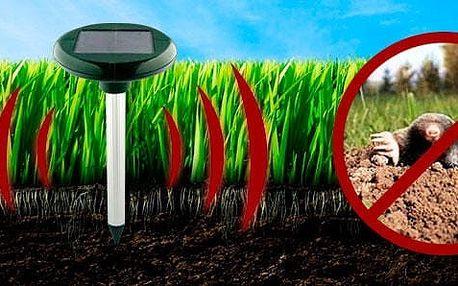 Solární odpuzovač krtků a hlodavců