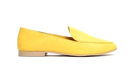 Dámské žluté mokasíny Briony 1182