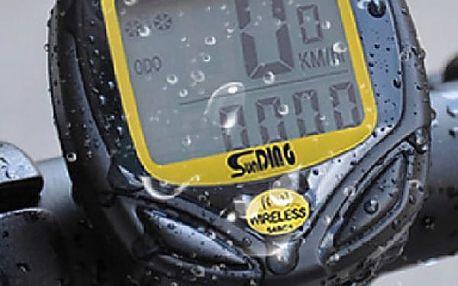 Bezdrátový cyklopočítač (tachometr na kolo) 15 funkcí SD-548C - dodání do 2 dnů