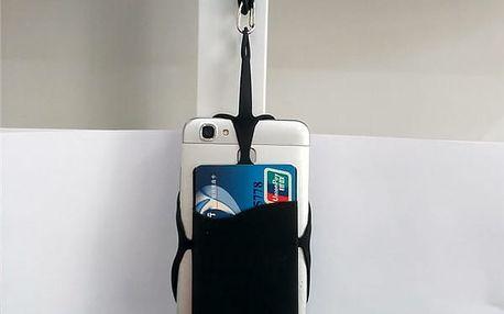 Silikonové pouzdro na krk pro telefon 3,5 až 5,5