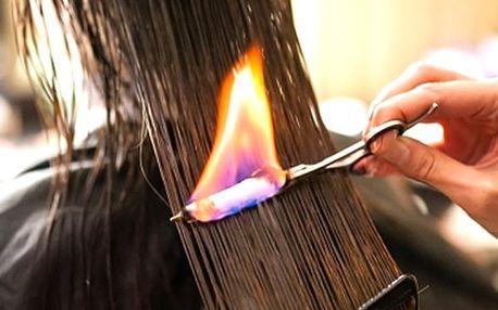 Firecure - rekonstrukce vlasů ohněm pro netřepící se konečky a oslňující lesk ve Studiu Step.
