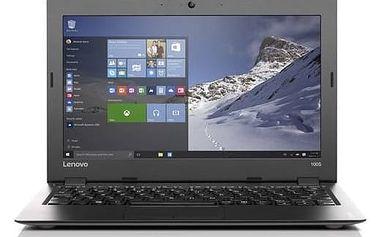 Notebook Lenovo IdeaPad 100S-11 (80R2008SCK) stříbrný Monitorovací software Pinya Guard - licence na 6 měsíců (zdarma)Voucher Lenovo Zoner Photo Studio 18 Pro (zdarma)Software F-Secure SAFE 6 měsíců pro 3 zařízení (zdarma) + Doprava zdarma