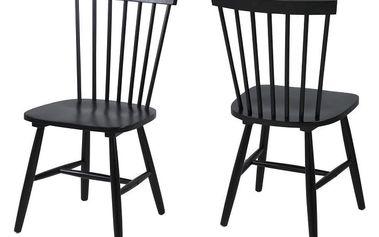 Černá jídelní židle Actona Riano - doprava zdarma!