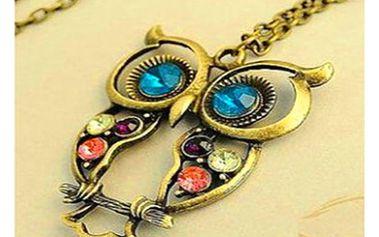 Dámský náhrdelník s různými přívěsky - 7 variant