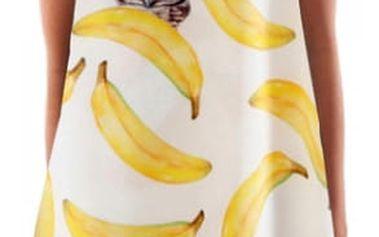 Letní šaty s krásným potiskem v jednoduchém střihu - 9 variant