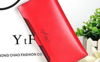 Dámská dlouhá peněženka v elegantním provedení - 7 barev