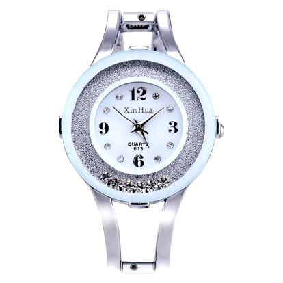 Moderní náramkové hodinky s kruhovým ciferníkem