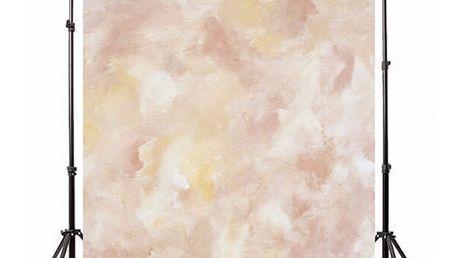 Ateliérové fotopozadí 2,1 x 1,5 m - Šmouhy