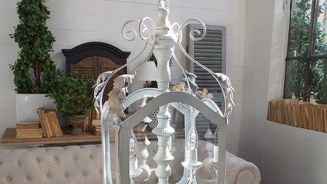 Stropní svítidlo se 2 světýlky Orchidea Milano Antique - doprava zdarma!