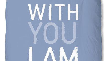 Modré povlečení Muller Textiel I'm Home, 140x200cm