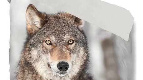Povlečení Muller Textiel Wolf, 140x200cm