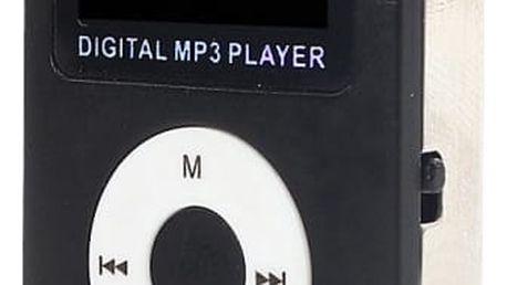 MP3 přehrávač s FM rádiem a slotem na microSD - 3 barvy