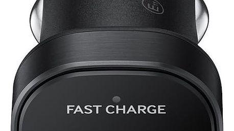 Samsung cestovní adaptér do auta microUSB, černá - EP-LN930CBEGWW