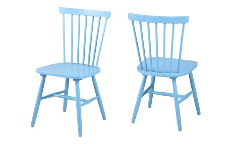 Modrá jídelní židle Actona Riano - doprava zdarma!