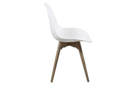 Bílá jídelní židle Actona Scramble - doprava zdarma!