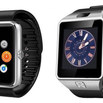 Chytré hodinky SmartWatch GT08+ nebo SmartWatch DZ09 v češtině