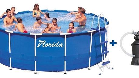 Marimex Bazén Florida 3,66x0,76 m + písková filtrace 2m3/hod. - 10340171