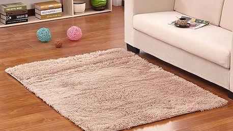 Měkký koberec do ložnice či obýváku - velbloudí - dodání do 2 dnů