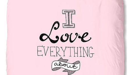 Povlečení Muller Textiel Everything About You, 140x200cm