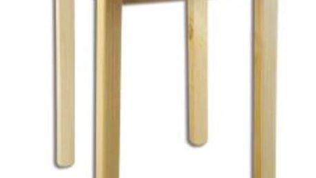 Jídelní stůl ST105 průměr 50 masiv borovice