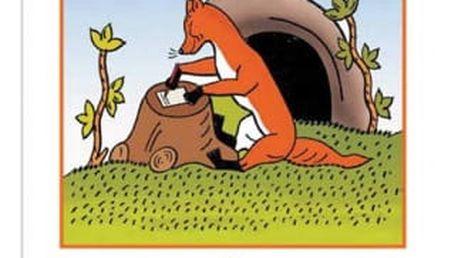 Omalovánky - Josef Lada - O chytré kmotře Lišce - dodání do 2 dnů