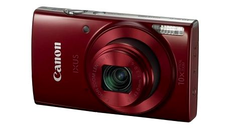 Digitální fotoaparát Canon IXUS 180 červený + Doprava zdarma