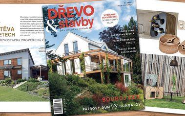 Roční předplatné dvouměsíčníku Dřevo&Stavby
