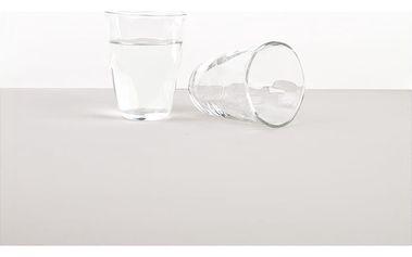 MIJ Sklenice s nepravidelným okrajem GLASS 310 ml